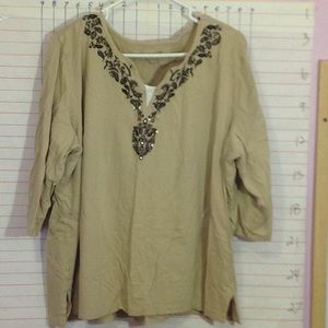 Plus size top by White Stag